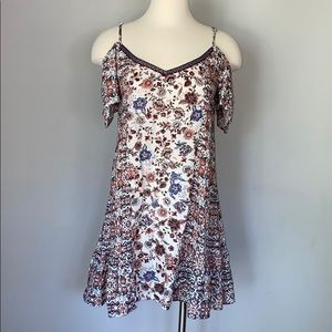 Band of  Gypsies cold shoulder mini dress Size M